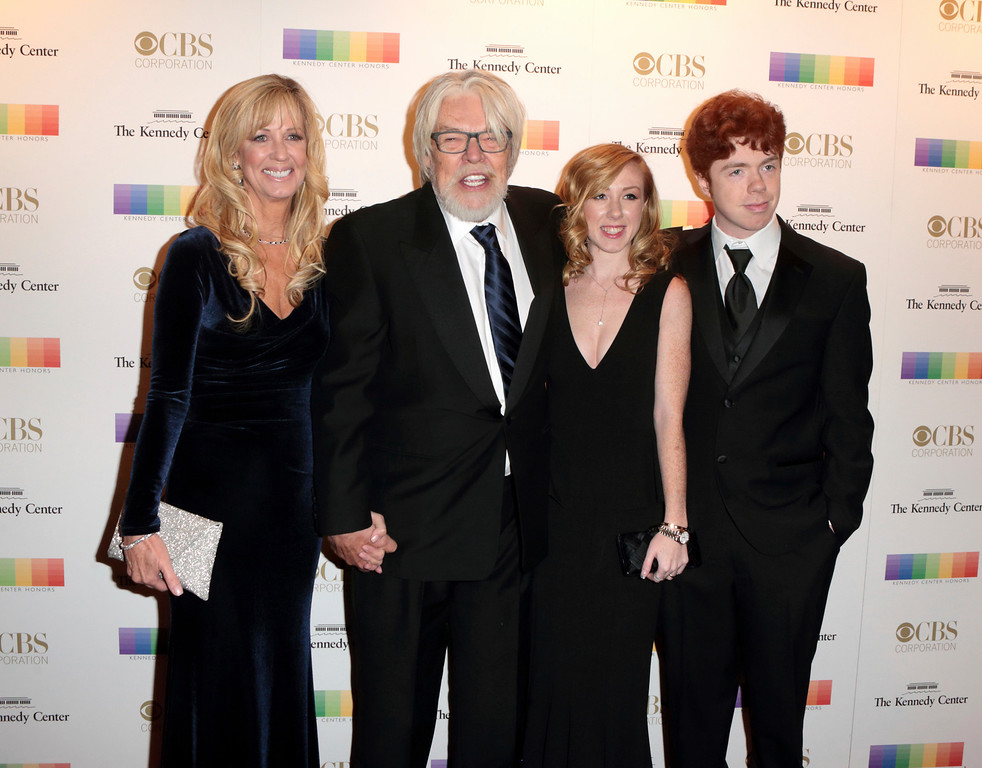 . Juanita Dorricott, from left, Bob Seger, Samantha Seger and Cole Seger attend the 39th Annual Kennedy Center Honors at The John F. Kennedy Center for the Performing Arts on Sunday, Dec. 4, 2016, in Washington, D.C. (Photo by Owen Sweeney/Invision/AP)
