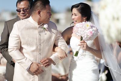 Kawai and Jr's Wedding Ceremony and Portraits