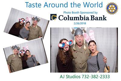 Taste Around the World at May Fair Farm in West Orange on 2-26-18