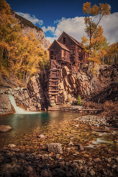 Crystal Mill & Creek, Colorado