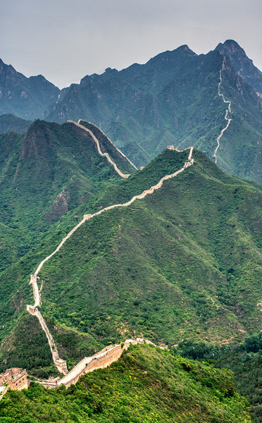 The Great Wall into Infinity