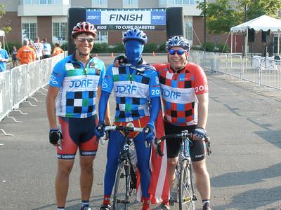 2012-07-14 Burlington Ride to Cure Diabetes - ON THE ROAD