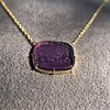 'Push Along' Purple Glass Pendant, by Seal & Scribe 12