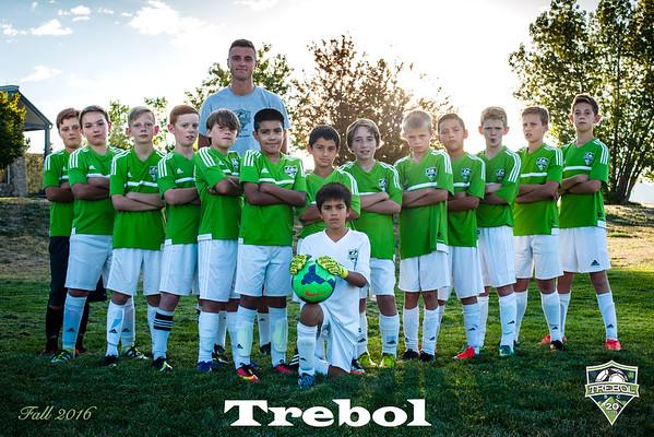 Trebol Soccer - Green Team