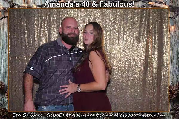 20180921 Amanda's Fabulous & 40!  Party