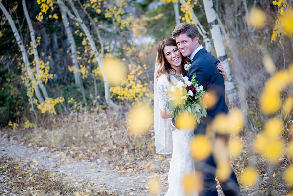 Bridals and Groomals Little Cottonwood Canyon