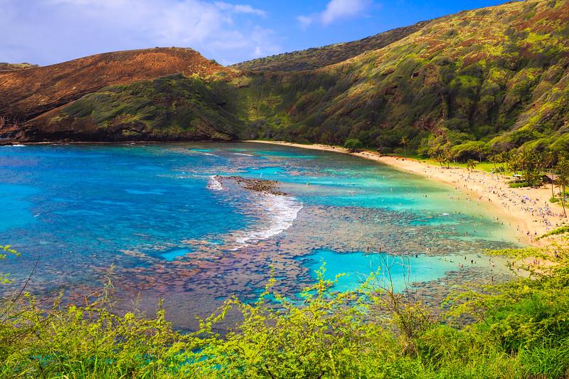 Hanauma Bay, Oahu, Hawaii - Known for Snorkeling
