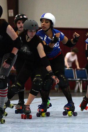 I5 Roller Girls vs. Seattle Derby Brats