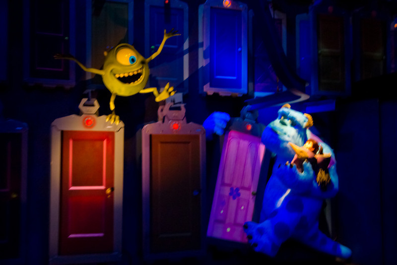 Sulley, Mike, & Boo