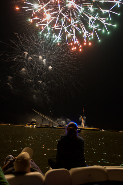 Fireworks from Boat 2