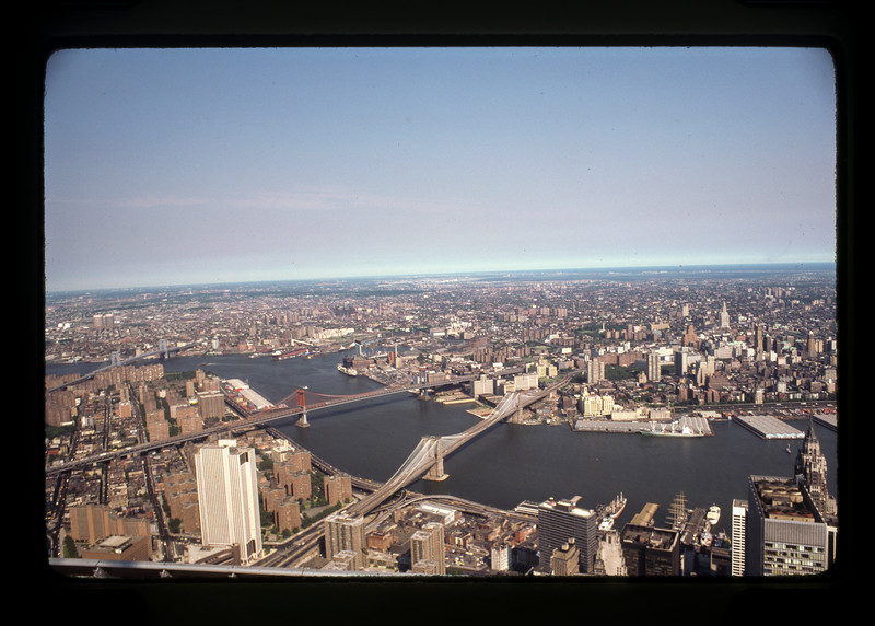 View from World Trade Center One, 1978