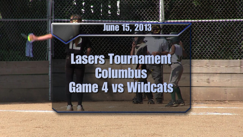 Lasers Tournament Game 4 vs Wildcats