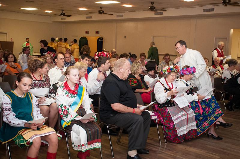 2013 50th Annual Slavic Festival Mass