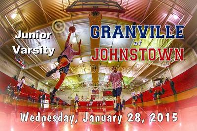 2015 Granville at Johnstown (01-28-15) Junior Varsity