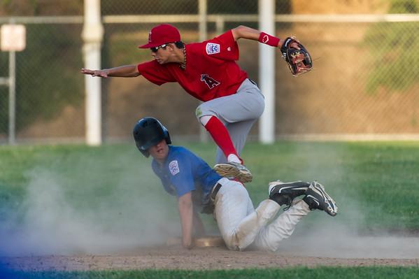 Roseville West Little League Jr. Angels vs Dodgers 5-26-16