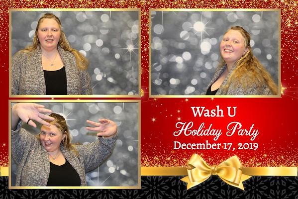 Wash U Holiday Party