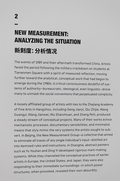 SFMOMA Chinese Art Exhibit Post 1989