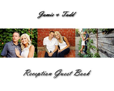 Jamie & Todd 10x8 Reception Album Sample