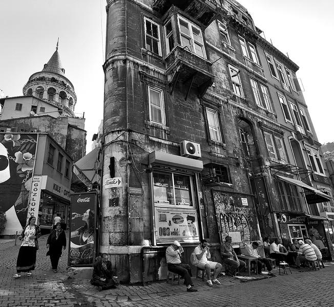 Street scene.  Istanbul, Turkey, 2016