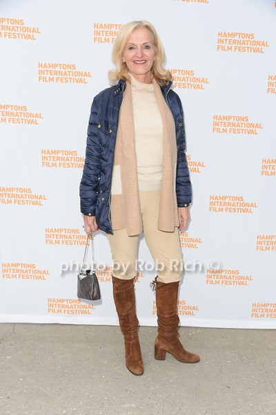 """Ann Liguori  attends the screening of """"The Capote Tapes"""" at the Hampton International Film Festival at the UA Cinema in Southampton on October 12, 2019. photo by Rob Rich/SocietyAllure.com"""