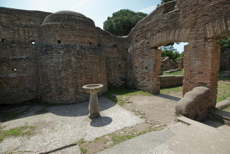 RUins inside Ostia Antica, Italy