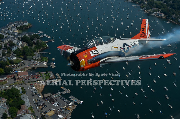100th anniversary of Marine Corps Aviation Flyover  Marblehead Ma. 8/4/12 N161JP N555PF