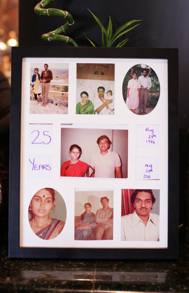 Ram and Asha - 25th Wedding Anniversary