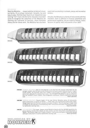1966 Hohner Catalog