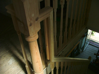 Staircase Spindles and Newel posts