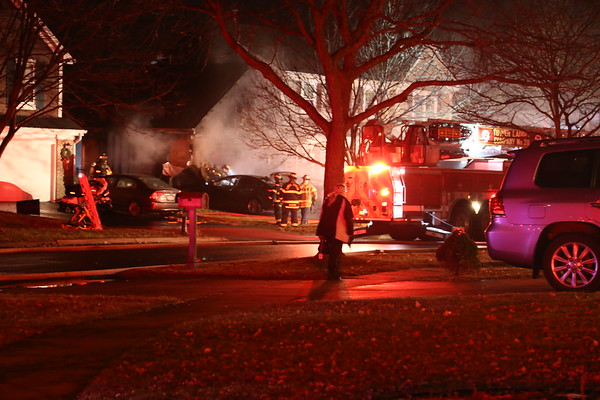 Carol Stream attach garage fire 12-28-2018