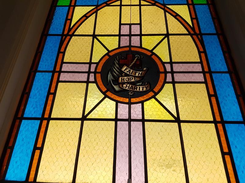 Fönster i Sophia-kapellet