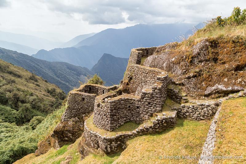 South America Adventure Inca Trail Peru