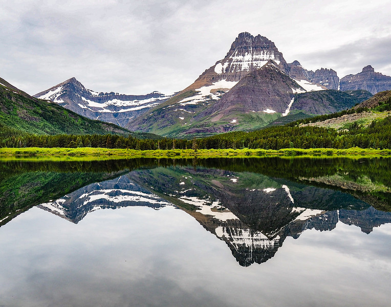 Swiftcurrent Lake in the Morning, Glacier NP