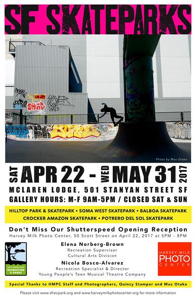 SF Skate Parks - 11x17 Poster - Draft 6