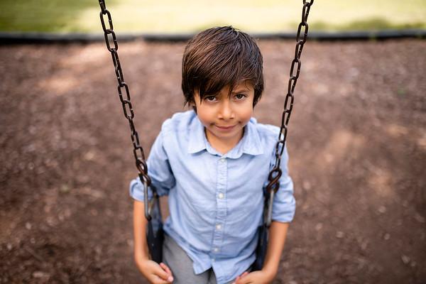Hanson Fam | Oshkosh Family Photography | Doty Park