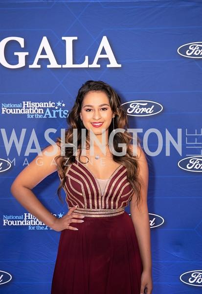 Alyssa Raghu. Photo by Yasmin Holman. Noche de Gala. Mayflower Hotel. 09.18.19
