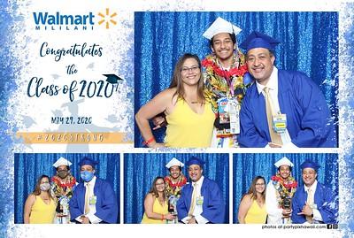 Walmart Graduation 2020 (Mini LED Photo Booth)