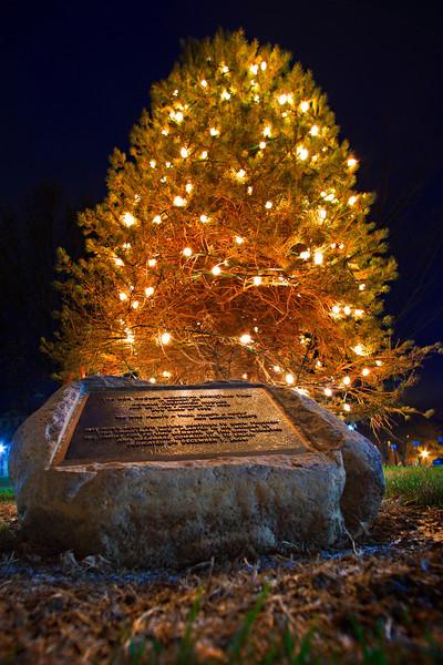OWU Hudler Tree Lighting