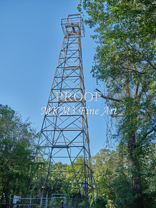 Oil Wells Along the Sabine River