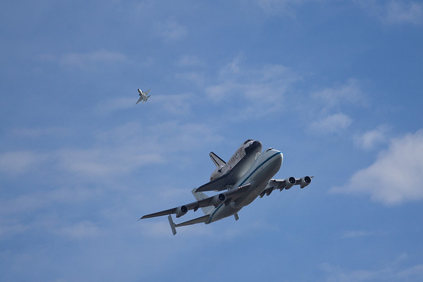 2012 Shuttle Discovery Arival