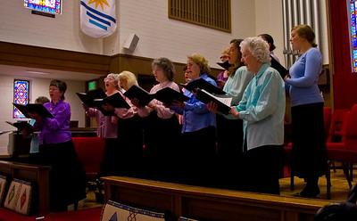 Santa Rosa Women's Etude Chorus Concert May 9th 2009