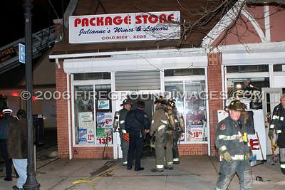 Fairfield Ave. Fire (Bridgeport, CT) 2/6/06