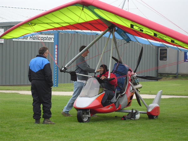 Dave at Sywell