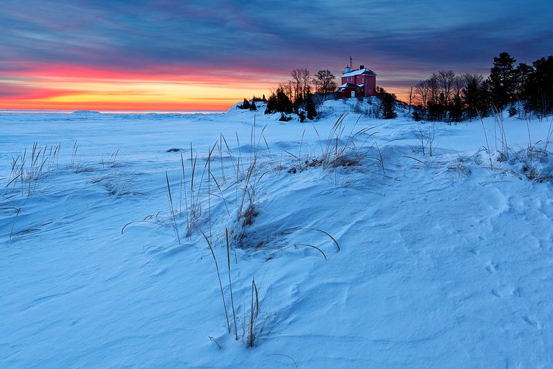 Drifted Light III - Marquette Harbor Lighthouse (Marquette, MI)