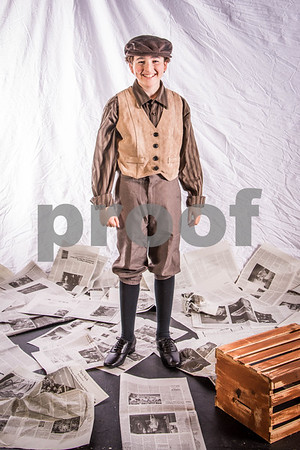 Newsies Jr. Promo Photos