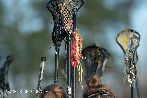 Broughton Lady Caps lacrosse at Middle Creek. February 26, 2019. D4S_1696