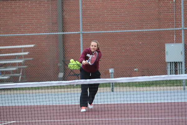 Osky Girls Tennis vs. South Tama