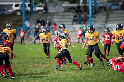 SCYF - Redskins vs Cardinals @ Sunset Middle - Oct 15, 2011