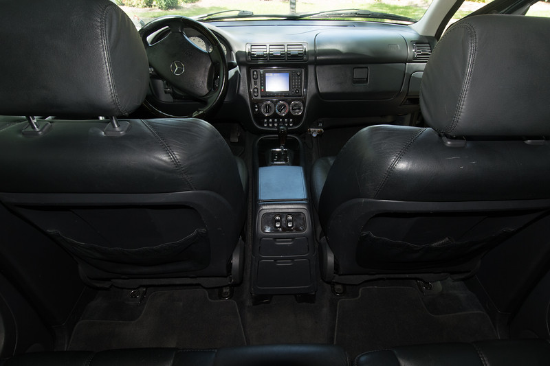ML55 front seats and rear seat floor mats