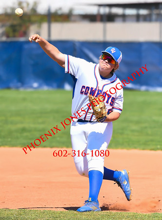 3-23-19 - Bourgade v Camp Verde - Baseball